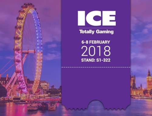 Visit us at ICE Totally Gaming Show in London 2018